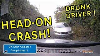 UK Dash Cameras - Compilation 3 - 2018 Bad Drivers, Crashes + Close Calls