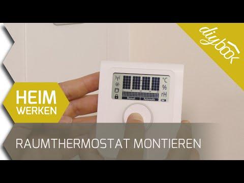Smarthome Austria: Raumthermostat Der Fußbodenheizung Montieren