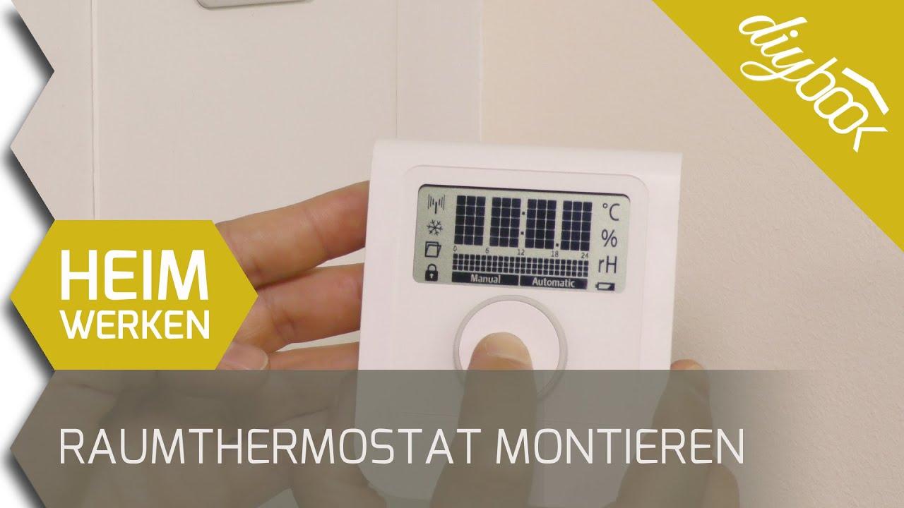 Smarthome Austria Raumthermostat Der Fussbodenheizung Montieren