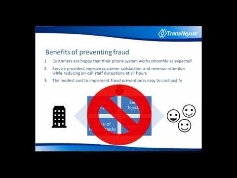 Telecom Fraud; Risks And Prevention