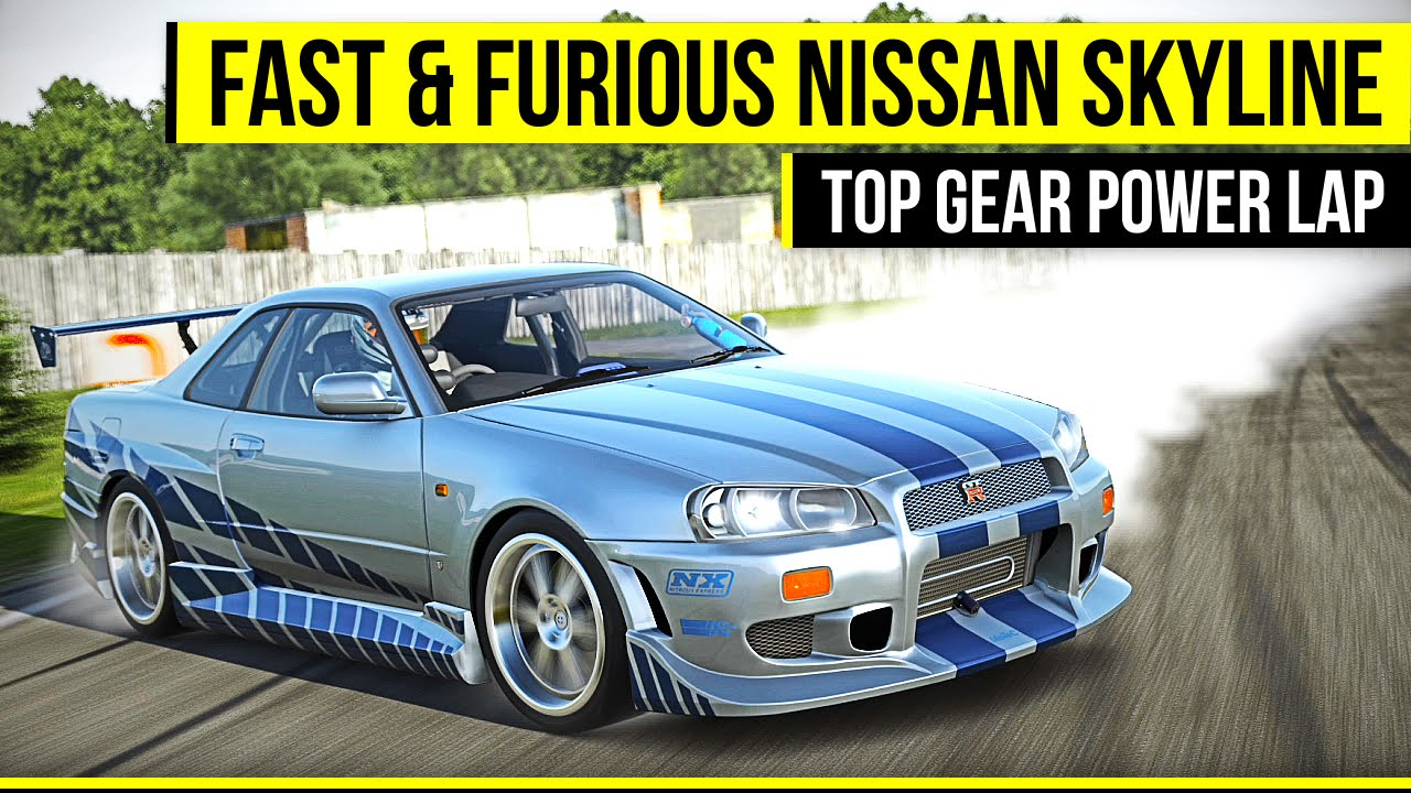Fast Amp Furious Nissan Gt R Top Gear Power Lap Forza 6