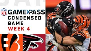 Bengals vs. Falcons | Week 4 NFL Game Pass Condensed Game of the Week