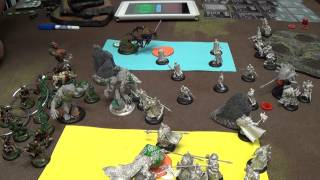 Warmachine Hordes Videocast: Khador Kommandant Irusk vs Circle Orboros Kaya the Moonhunter