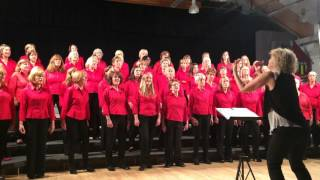 Village Voices performing Run