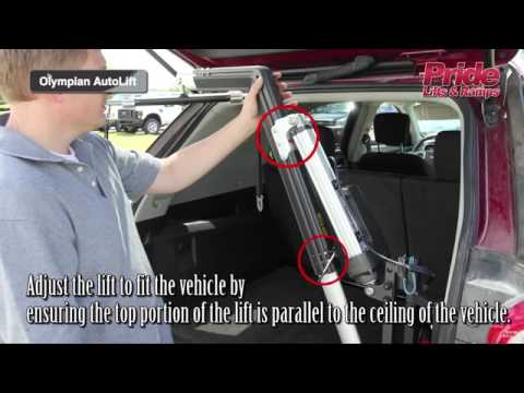 Pride Olympian AutoLift Installation Instructions - Marx Medical Equipment