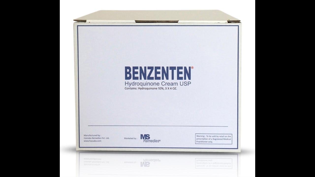Product # GHT27412: Hydroquinone 10% Cream (Benzenten Cream) 12 oz. (340g)  Monthly Supply