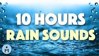 RAIN 10 HOURS Rain Sounds for Sleeping Ambience for