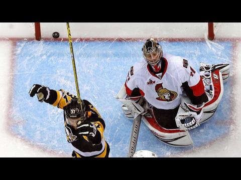 Penguins batter Senators to take 3-2 series lead