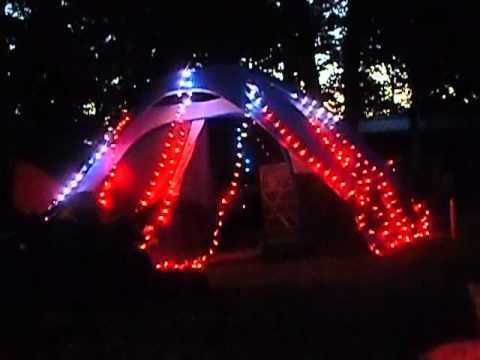 Christmas Lights For Camping.Camping 2015 Animated Tent With Arduino Ws2811 Lights