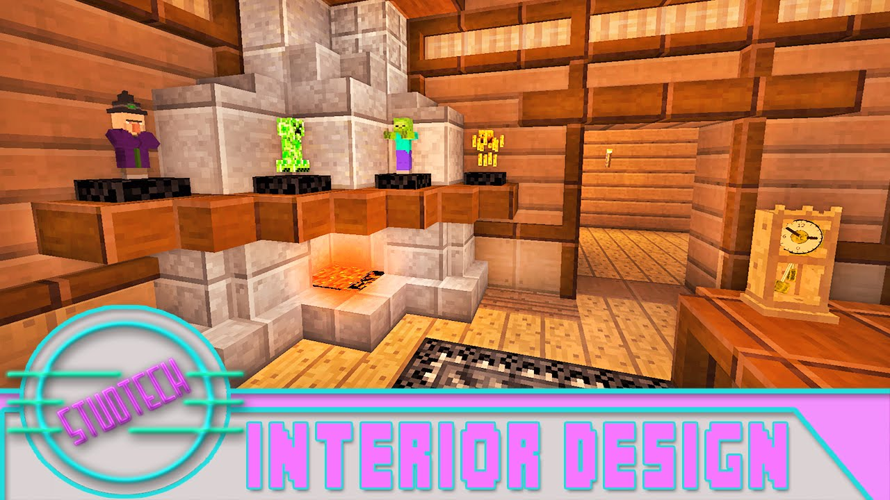 Modded Minecraft: Interior House Designs For An Office ...