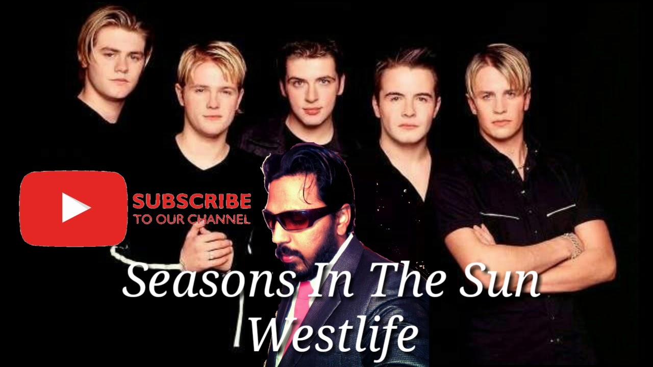 Seasons In The Sun - Westlife - Cover Song By Daniel Mark - Westlife Songs-Lyric Videos