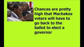 Alfred Mutua Loses Machakos Governorship