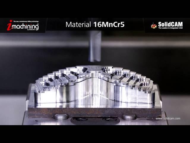 iMachining 3D - Kayak Gözlüğü Kalıbı