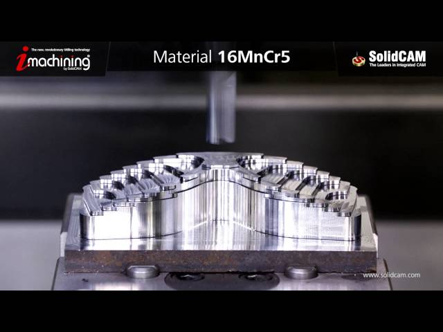 iMachining 3D - Ski Goggles Mold