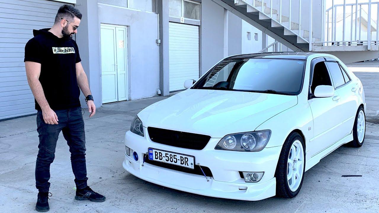უხეში ტესტ დრაივი – Toyota Altezza – ჯინოს მეფე!