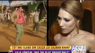 Iulia Vantur si actrita Mirela Zeta au socat pe toata lumea!