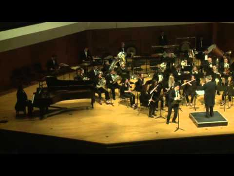 Maslanka: Concerto for clarinet and wind ensemble