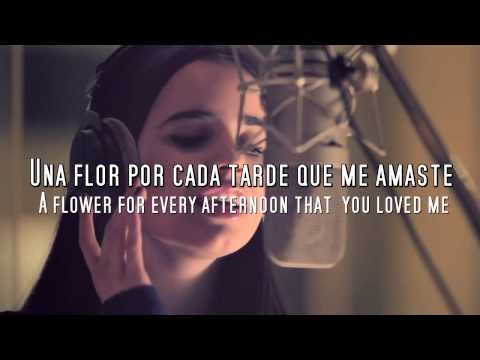 Sofia Carson - Una Flor (lyrics + Subtitles in English)