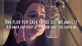 Sofia Carson - Una Flor (lyrics + Subtitles in English)