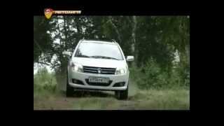 Geely MK Cross тест автомобиля от Автолиги