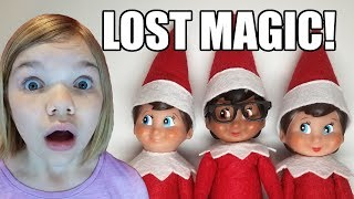 Touched Elf On The Shelf Needs His Magic Back!