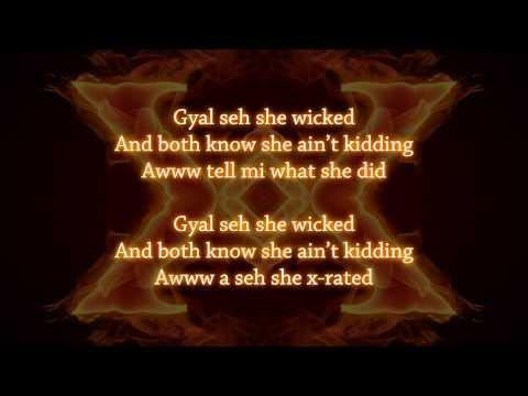 Mavado - X-Rated (lyrics on screen)