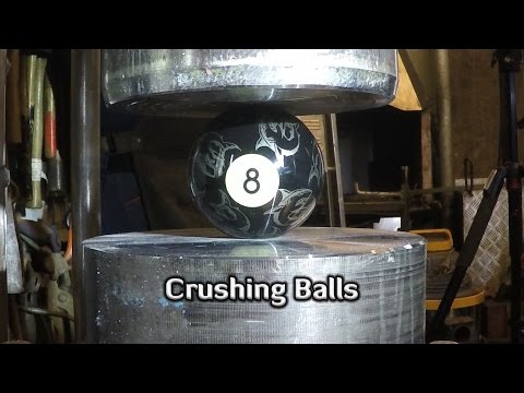 Thumbnail: Hydraulic Press | 9 Different Balls