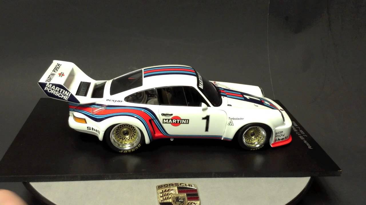 1 18 porsche 935 1976 martini racing by spark review youtube. Black Bedroom Furniture Sets. Home Design Ideas