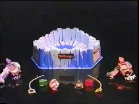 BeyBlade Blizzard Bowl Let em Rip Commerical 15 second (2002) Bey Blade