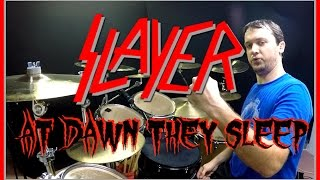Video SLAYER - At Dawn They Sleep - Drum Cover download MP3, 3GP, MP4, WEBM, AVI, FLV Agustus 2017