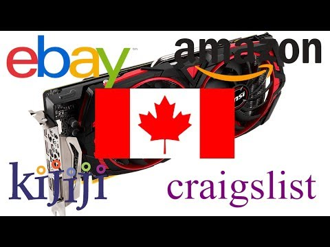 Buying Used Graphic Cards In Canada For Mining?