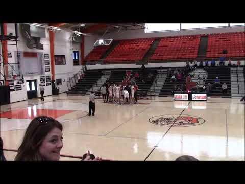 West High School vs  Knoxville Christian School at Lenoir City XMAS Tourney 2019