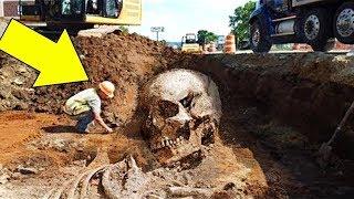 जब खुदाई में अचानक मिली खोपड़ी, फिर लोगों ने इसके साथ क्या किया ख़ुद देखिए | Proof of Giants