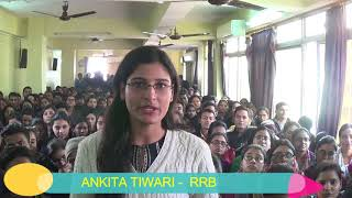 Ankita Tiwari Selected In RRB.Career Planner & Alliance Club Congratulates Her On Her Grand Success.