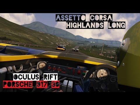 VR [Oculus Rift] Porsche 917/30 Highlands Long | Assetto Corsa Gameplay