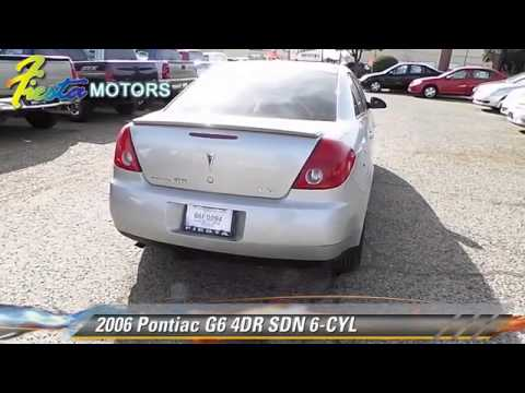 used 2006 pontiac g6 6 cyl lubbock youtube