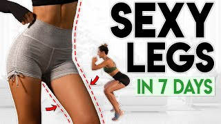 SEXY LEGS in 7 Days (lose leg fat)  8 minute Workout