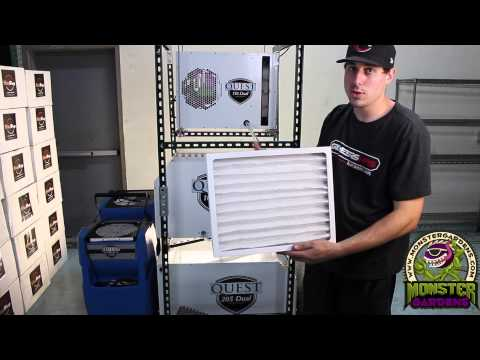 QUEST Dehumidifiers For Grow Rooms | True Dehumidifiers Commercial Quest 105 110 150 205 Botrytis