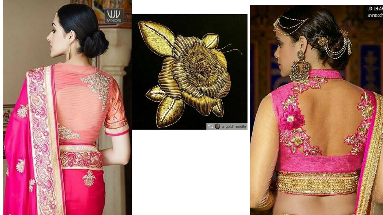 Latest Blouse Designs 2017 For Net Sarees Agbu Hye Geen