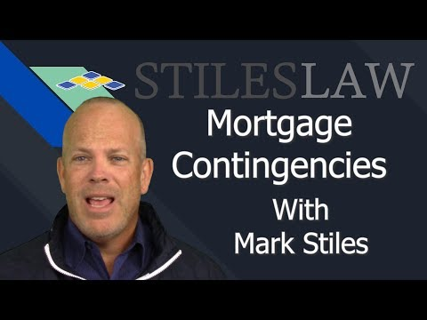 Do You Need A Mortgage Contingency?