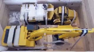 Part 1a Unboxing of Komatsu PC700 excavator