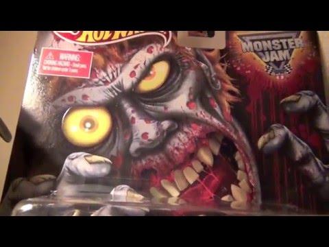 ✅ Review: Monster Jam Zombie Walmart Mail-Away Hot Wheels Truck - YT