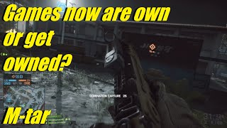 BF4 - Games now are own or get owned, no in between? | A legendary sniper in here! MTAR