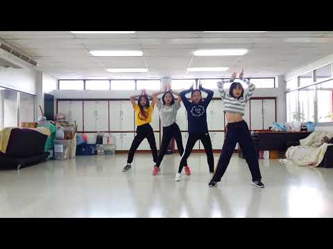 Busaba ซ้อมเต้น Cover Blackpink[Intro+Whistle+As If..]#day 1