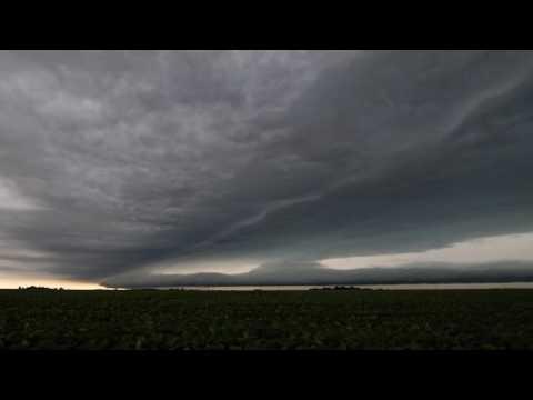 June 22, 2016 - Sangamon County Illinois Roll Cloud