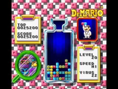 SNES Longplay [399] Dr. Mario