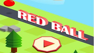 RED BALL GO | Jump Around With Different Balls | iOS Game (New Game #22)