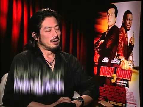 Hiroyuki Sanada, Chris Tucker and Jackie Chan  Rush Hour 3