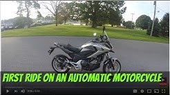 2016 Honda NC700X Automatic?? first test drive:srkcycles.com