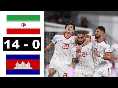 イラン 対 カンボジア